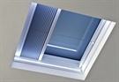 The New ECO+ Flat Glass Rooflight With LED Lights
