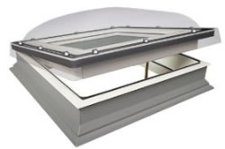 Flat Glass Domed Rooflights