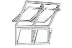 Pitched & Vertical Combination Windows | VELUX & FAKRO