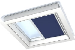 VELUX Flat Roof Window & Rooflight Blinds