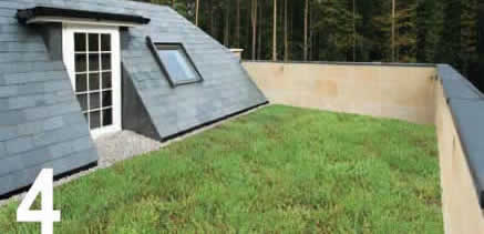 Instant green roof!