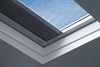 FAKRO secure white pvc anti-burglary fixed flat roof window internal - Sterlingbuild