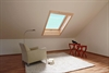 Roto Designo R7 Pine Top - Third Roof Window Installed in Loft Room - Sterlingbuild