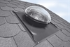 FAKRO flexible sun tunnel installed on a slate roof - Sterlingbuild