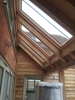 FAKRO conservation roof window in pine by internal viewing - Sterlingbuild