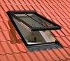FAKRO conservation roof window installed in a tile roof - Sterlingbuild