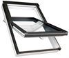 FAKRO secure white-paint laminated centre pivot roof window - Sterlingbuild