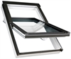 FAKRO FTU-V P2 11 White PU Laminated Centre Pivot Roof Window 114x140cm