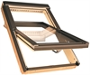 FAKRO FTP-V P2 Secure 08 Pine Enhanced Security Centre Pivot Roof Window 94x118cm
