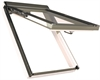 FAKRO PPP-V P2 08 White PVC Laminated Top Hung Roof Window 94x118cm