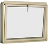 FAKRO BVU P2 91 White PU Laminated Tilt Opening L-Shape Window 114x115cm