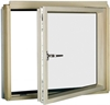 FAKRO BDR/U P2 87 White PU Laminated Right Opening L-Shape Window 94x115cm