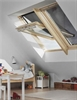 VELUX EKY W20 3000 Pine 100mm Gap 2m Long Adjustable Trimmer
