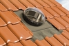 FAKRO flexible sun tunnel installed on a tile roof - Sterlingbuild