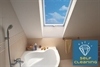 ECO+ White PVC Triple Glazed Centre Pivot Roof Windows - Sterlingbuild