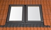 RoofLITE UCX C2A 2E Part 2 Combination Flashing 100mm Gap 55x78cm