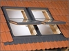 RoofLITE UCX C2A 46E Part 4+6 Combination Flashing 100mm Gap 55x78cm