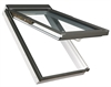 FAKRO PPP-V/C P5 02 Conservation White PVC Laminated Top Hung Roof Window 55x98cm