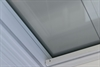 Manual Pleated Blackout Blind for Flat Roof Window 60x60cm White ECO+