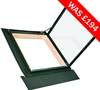 FAKRO pine double glazed side hung access skylight - Sterlingbuild