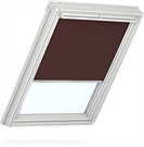 VELUX Manual Roller Blind - 4060 Dark Brown