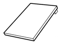 RotoQ4 EDP 1x1 AL S 5/7 Plain Tile Flashing 55x78cm