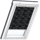 VELUX Manual Blackout Blind - 4562 Dark Pattern