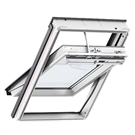 VELUX INTEGRA GGU CK02 007021U Electric White PU Laminated Centre Pivot Roof Window 55x78cm