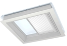 VELUX FSK 060060 1045 Solar Light Dimming Energy Blind for Flat Roof - White