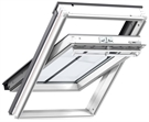 VELUX GGL SD5J2 Conservation White Paint Centre Pivot Roof Window With Recessed Tile Flashing