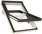 FAKRO FTW-V P2 White Paint Laminated Centre Pivot Roof Window