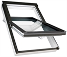 FAKRO FTU-V P2 White PU Laminated Centre Pivot Roof Window