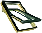 FAKRO FTP-V/C P2 01 Conservation Pine Centre Pivot Recessed Kit for Tile 55x78cm