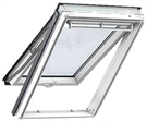 VELUX GPU CK04 0060 White Noise Reduction Top Hung Roof Window 55x98cm
