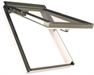 FAKRO PPP-V P2 06 White PVC Laminated Top Hung Roof Window 78x118cm