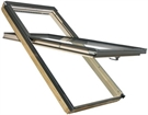 FAKRO FYP-V P2 07 proSky Pine Laminated High Pivot Roof Window 78x140cm