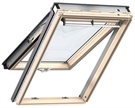 VELUX GPL MK08 3160 Pine Noise Reduction Top Hung Window with Copper Finish 78x140cm