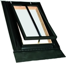 FAKRO WGI/C 02 Conservation Pine Double Glazed Top Hung Access Skylight 46x75cm