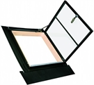 FAKRO WLI/C 01 Conservation Pine Double Glazed Side Hung Access Skylight 54x98cm