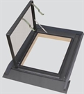 Sterlingbuild Pine Side Hung Skylight 80x80cm