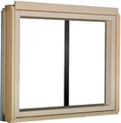 FAKRO BXP/C P2 Conservation Pine Fixed Laminated L-Shape Window