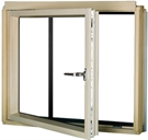 FAKRO BDL/C P2 Conservation Pine Laminated Left Opening L-Shape Window
