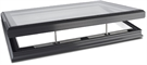 Sunsquare Aero Flat Glass Opening Vent Rooflight with Upstand and Early Upstand Delivery 80x80cm