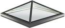 Sunsquare 30° Pyramid Glass Rooflight with Upstand 100x100cm