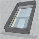 VELUX KFD UK08 0000 Wind Deflector 134x140cm