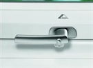 Roto ZUB GRF ASB Lockable Handle Designo R4/R7 and WDA R3 - Aluminium