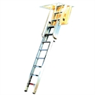 Youngman Deluxe Loft Ladder 2 Section - 2.31m - 3.25m