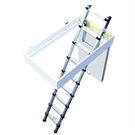 Youngman Telescopic Loft Ladder - 2.43m - 2.88m