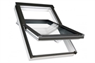 FAKRO FTU-V P2 Secure 80 White PU Enhanced Security Centre Pivot Roof Window 94x160cm