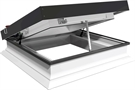 ECO+ Electric Flat Glass Rooflight with Vertical Kerb